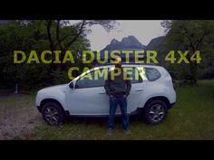 dacia duster 4x4 mini camper - YouTube