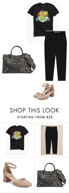 """""""real Tuesday"""" by pvzhang on Polyvore featuring Urban Outfitters and Balenciaga"""