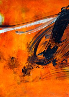 Frozen Gestures: The Art of Peter Upward. Love the bold colour! #abstractexpressionism