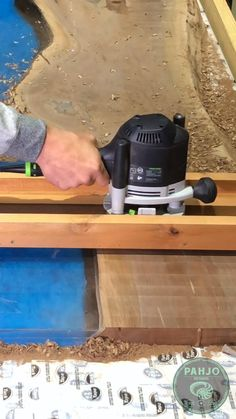 Learn how to flatten a wood slab table with a router sled jig. I made a homemade jig and used a festool router & a spoilboard surfacing router bit to flatten this walnut slab epoxy dining table.