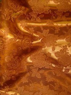 Amber Eversong Brocade Fabric - Bridal Fabric by the Yard