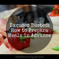 Excuses Busted: How to Prepare Meals in Advance Ramen Recipes, Healthy Recipes, Beautiful Life, Food Preparation, Helpful Hints, Food To Make, Meal Planning, Meal Prep, Ramen Food