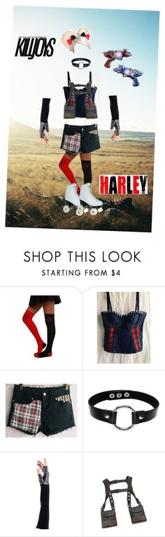 killjoy harley by amy-batman-cooper on Polyvore featuring ONE by Bohemian Hips and Urstadt.Swan