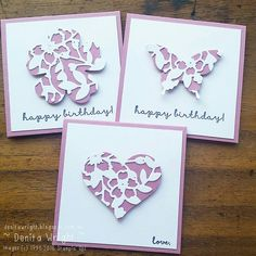Denita Wright - Independent Stampin' Up! Demonstrator: Notecards - Colour Challenge #gdp041