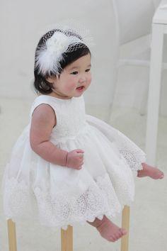 Set i-Baby Christening Dress(Bonnet+Bloomer+Shortdress), Handmade, Baptism Dress, Party Dress, White Dress, Infant dress, Cotton Dress by PetiteJR on Etsy https://www.etsy.com/listing/273744672/set-i-baby-christening