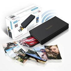 SereneLife Portable Instant Mobile Photo Printer - Wireless Color Picture Printing from Apple iPhone, iPad or Android Smartphone Camera - Mini Compact Pocket Size Easy for Travel - PICKIT22BK (Black). INSTANTLY PRINT FROM SMARTPHONES: Connects with all Apple iPhone 4s, 5, 6, 7 and Later, iPad, Android Smartphones and Best Offer