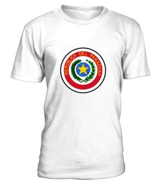 # National coat of arms of Paraguay .  Get this BEST-SELLING T-ShirtCHECK OUT OUR SHOP!Guaranteed safe and secure payment with:Best quality on the market, great selection of colors and styles!National coat of arms of Paraguay(Republic, Flag, South America, Paraguay, Spanish, Asunción, Ciudad del Este, San Lorenzo, Guaraní, Concepción)
