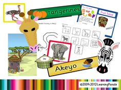 Story Explorers are great time savers for busy educators who enjoy sharing traditional tales or popular picture books with young children. Lots of cute display printables, .Notebook presentation and a cut/paste worksheet. Creative Activities, Book Activities, Handas Surprise, Book Area, Traditional Tales, African Safari, African Animals, Too Cool For School, School Stuff