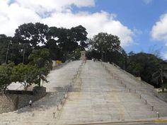Escalinata el Calvario.Parque Ezequiel Zamora - El Calvario. Caracas.