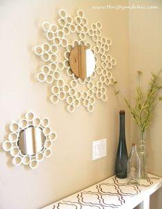 Very Cool Handmade Mirror Design Ideas