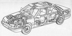Rover 800 (XX) development story - learning to work with Honda Honda Legend, Car Magazine, New Engine, Jaguar, Badge, Product Launch, Learning