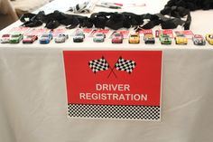 Race Car Birthday Party