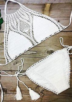 Sweet Nothings Crochet Bikini Set