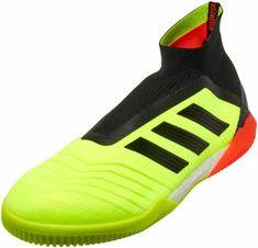 46f1fc604c5 adidas Predator Tango 18 Indoor Soccer Shoes - Solar Yellow Black Solar Red  Futsal