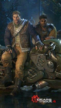 Gears of War: J.D Fenix and Del