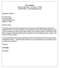 Thank You Letter After Job Interview - http://resumesdesign.com/letter-template/thank-you-letter-after-job-interview/