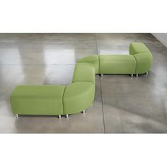 Steelcase Alight Lounge Bench Ottoman | AllModern :: 380 each + many color options - 18h x 36 wide x 19 deep