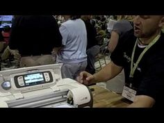"""Obsessedwithscrappin on YouTube: Cricut Imagine Machine from CHA.m4v #Imagine #video """"See the new Cricut Imagine Machine demoed at CHA in Chicago, with tons of questions asked and answered!"""""""