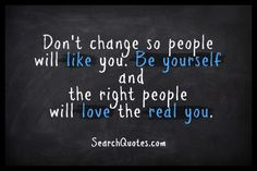 People Doing It | Be yourself because everyone in this world is unique… | arinblogs
