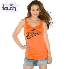 Baltimore Orioles Touch by Alyssa Milano Curveball Tank  - MLB.com Shop