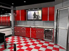 Custom Garage Design and Furnished by VAULT® | Flickr - Photo Sharing!