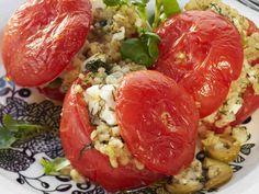 Ohra-fetatäytteiset tomaatit