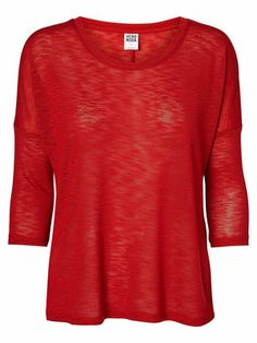Fitted 3/4 sleeved blouse - Vero Moda The Selection, Blouse, Fitness, Sweaters, Outfits, Tops, Fashion, Moda, Suits