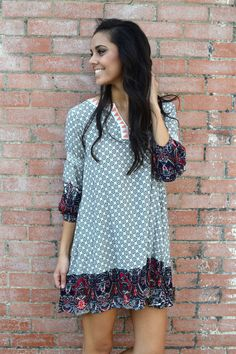 Mix Things Up Tunic from Shop Southern Roots TX