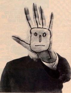 Autorretrato. Saul Steinberg