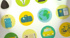 A transportation, travel and ecology themed icon set by Round Icons with 50 free icons in AI, SVG, PSD and PNG format.