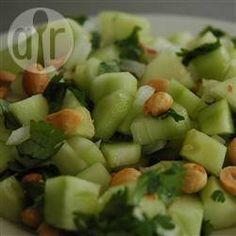 Salade de concombre à la thaïe @ qc.allrecipes.ca