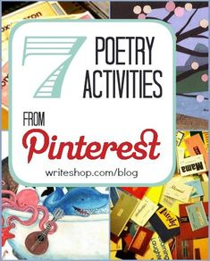 Delightful poetry activities from Pinterest appeal to all ages! Ideas include art projects, poetry notebooks, and poetry resources,