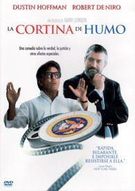 La cortina de humo (1997) EEUU. Dir.:Barry Levinson. Comedia. Sátira - DVD CINE 1929