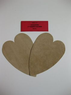 Elbow Patches - Heart Shaped Tan Ultrasuede - Set of 2