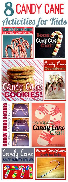 Little Family Fun: Candy Cane Activities