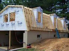 Image result for mansard roof frame