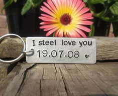 I STEEL Love You Personalised 11 YEARS 11th Wedding Anniversary Gifts For Men Wo 11th Wedding Anniversary Gift, Steel Anniversary Gifts, Anniversary Boyfriend, Personalized Anniversary Gifts, First Anniversary, Engagement Gifts For Him, Traditional Anniversary Gifts, Funny Gifts For Him, Personalised Gifts Unique
