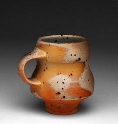 "Perry Haas, ""Footed Mug"" - Handmade Pottery Mug - Functional Pottery"