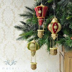 バルーンオーナメント/レッドKC048RD|クリスマス雑貨の通販【マテリ】 |