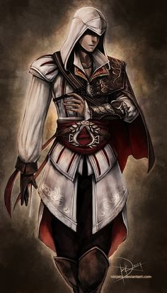 Ezio Auditore di Firenze - AC2 by Ninjatic.deviantart.com