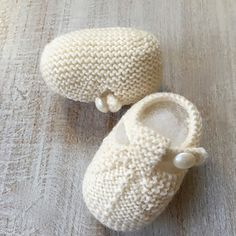 Baby Booties / Knitting Pattern Baby English Instructions / PDF /