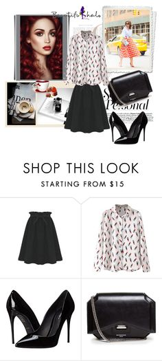 """""""Beautifulhalo 9"""" by ramiza-rotic ❤ liked on Polyvore featuring Dolce&Gabbana, Givenchy, women's clothing, women, female, woman, misses, juniors and beautifulhalo"""