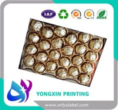 aluminium foil for chocolate wrapper