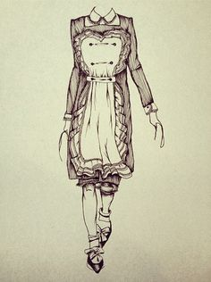 Josie Hall fashion illustrations