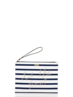 wedding belles tie the knot pouch - Kate Spade New York