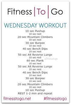 Wednesday Workout: Pyramid HIIT
