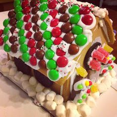 Gingerbread house inspiration // The Sparkle Kitchen