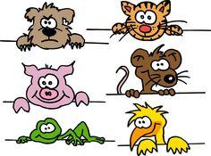 Tiere, Tierbilder, cartoontiere