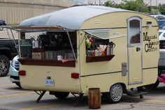 Coffee Trailer.  The best of both worlds lol