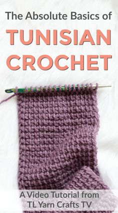 Do any of these sound like you? -I have this super long crochet hook in my stash and I have no idea what it's for. -I tried Tunisian crochet a long time ago, but it was really hard. Ugh! -I'm a crochet fanatic and have always wanted to try Tunisian, but I don't know where to start. If you fall into any of these categories, I have a treat for you! It's calledThe Absolute Beginner's Guide to Tunisian Crochet.It's a 20 minute video now available on the brand new TL ...